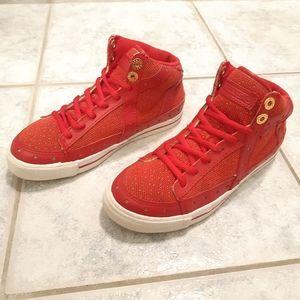 Gravis Gemini women red sneakers size 5 5
